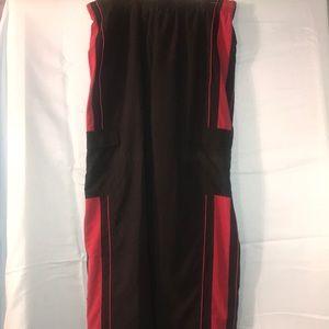 Men's XL Nike Sportswear Pants Black /Red